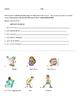 Spanish Reflexive Verbs Partner Activity