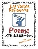 Spanish Reflexive Verbs Poem - Oral Assessment