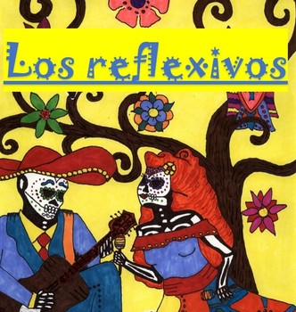 Spanish Reflexive Verbs Powerpoint, Note Outline, & Worksheet