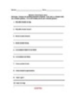 Spanish Reflexive Verbs Worksheets Practice Set
