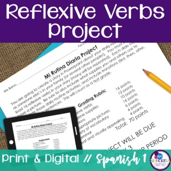 Spanish Reflexive Verbs Project