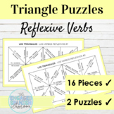 Spanish Reflexive Verbs Puzzles | Los Verbos Reflexivos