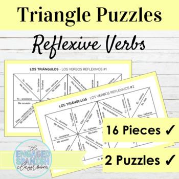 Spanish Reflexive Verbs Puzzle: Los Verbos Reflexivos de l
