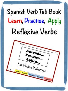 Spanish Reflexive Verbs Tab Book