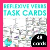 Reflexive Verbs in Spanish Task Cards | Spanish Reflexive