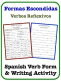 Spanish Reflexive Verbs Writing Activity
