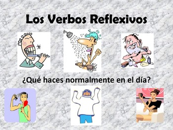 Spanish Reflexive verbs ppt and activities