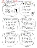 Spanish Task Cards -AR verbs preterite