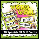 Spanish Classroom Decor (Regular ER & IR Verbs)