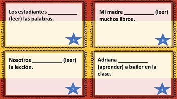 Spanish Regular –ER Verbs in Present Tense