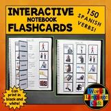 Spanish AR, ER, IR Verbs, Irregular, Stem-Changing Verbs, Interactive Notebook