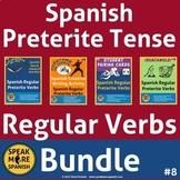 Spanish Regular Preterite Verbs Bundle #8. Verbos del Pret