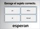 Spanish Regular Verbs (AR, ER, IR) Digital Task Cards (50 Boom Cards)