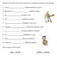 Spanish Regular Verbs Worksheets
