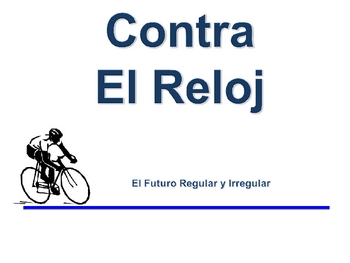 Spanish  Simple Future (Regular & Irregular) Writing Activity, Powerpoint