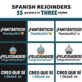Spanish Rejoinder & Useful Phrases Posters
