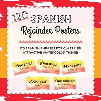 Spanish Rejoinders