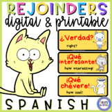 SPANISH REJOINDERS WITH PICTURES