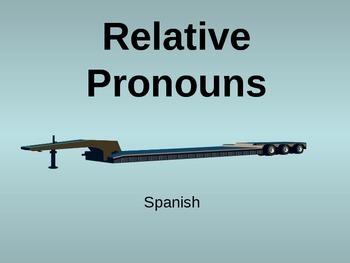 Spanish Relative Pronouns