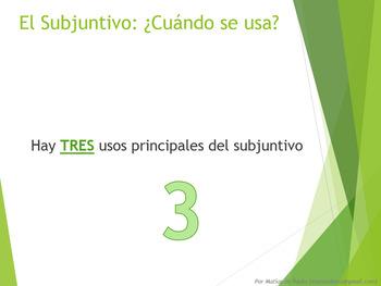 Español: Repaso del Presente Subjuntivo (Spanish: Subjunctive Review)
