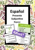Español: Repaso del Presente Subjuntivo (Spanish: Subjunct