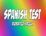 Spanish Reported Speech Test
