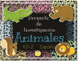 Spanish Research Project Animals - Proyecto de Investigaci