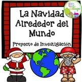 Christmas Research Activity in Spanish