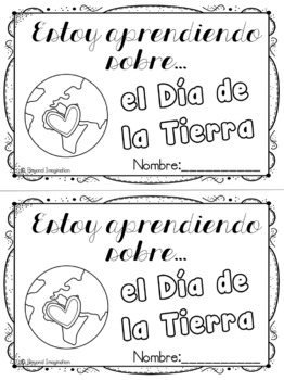 Spanish Resource Earth Day Booklet