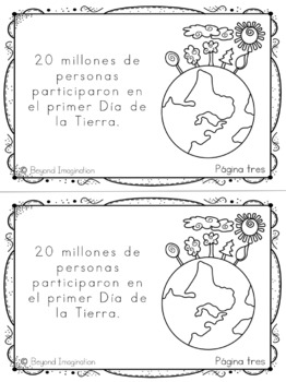 Earth Day Reading Activities in Spanish