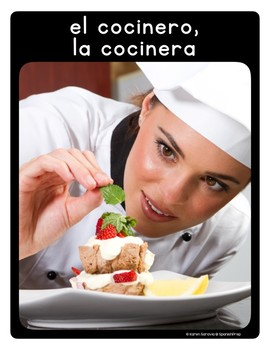 Spanish Restaurant 1 Vocabulary Posters & Flashcards with Real Photos