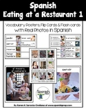 Spanish Restaurant 1 Vocabulary Posters & Flashcards with