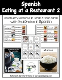Spanish Restaurant 2 Vocabulary Posters & Flashcards with