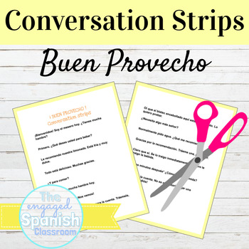 Spanish Restaurant Conversation Strips