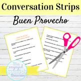 Spanish Restaurant Conversation Strips