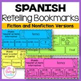 Spanish Retelling Bookmarks