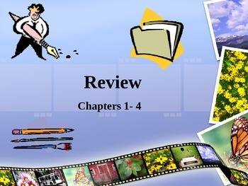 Spanish  Review: Chapters 1-4