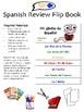 "Spanish Review ""Flip Book"" - Customizable!"