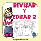 Spanish Revise and Edit Task Cards-REVISAR Y EDITAR SET 2