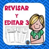 Spanish Revise and Edit Task Cards-REVISAR Y EDITAR SET 3