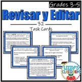 Spanish Revise and Edit Task Cards *Revisar y Editar*