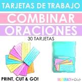 Spanish STAAR Revising Combining Sentences 30 Task Cards Aligned to Writing TEKS
