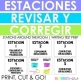 Spanish Revising & Editing Centers! Perfect for Spanish Wr