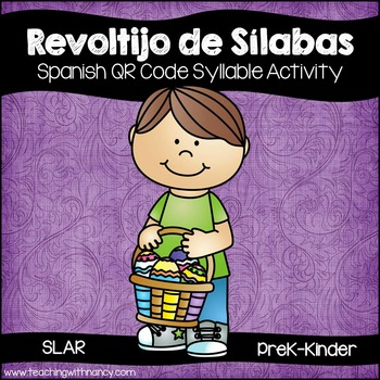 Spanish: Revoltijo de silabas (activida con condigos QR)