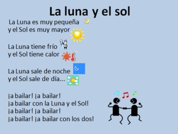 Spanish Rhymes/Poems Winter Edition