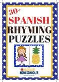 Spanish Rhyming Puzzles Dual Language