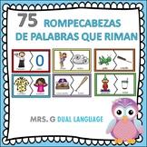 Spanish Rhyming Puzzles                  75  Rompecabezas de Rimas