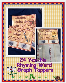 Spanish Rhyming Word Graph Toppers