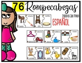 Spanish Rhyming Word Puzzles