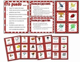 Spanish Rhyming Words - File Folder or Memory Game